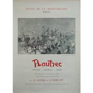 Toulouse Lautrec Original 1957 Poster, Mail Coach