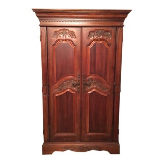 French Country Armoire / Entertainment Center