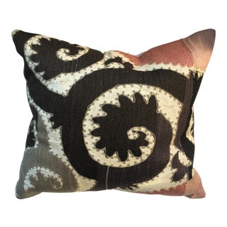 Antique Suzani Textile Pillow