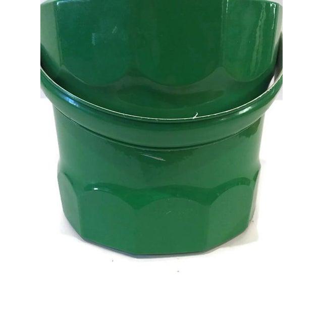 Image of Regency Emerald Green Mod Ice Bucket