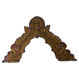 Indian Carved Temple Arch