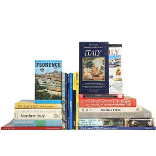 Travels in Italy Book Collection - Set of 20