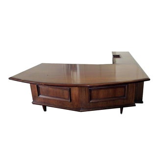Monteverdi Young Grand Executive Desk w/ Return