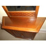 Image of Lane Console Table With Mirror