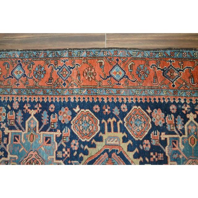 """Image of Antique Persian Heriz Rug - 4'8"""" X 6'2"""""""
