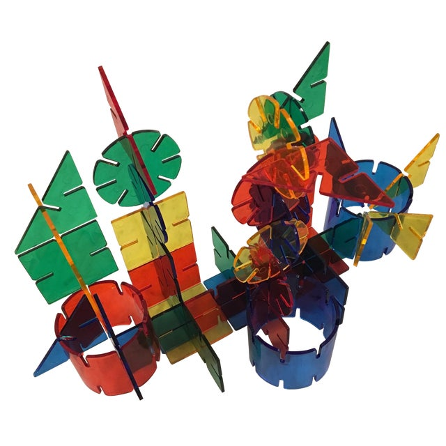 Image of 1960s Colorful Crystal Toy