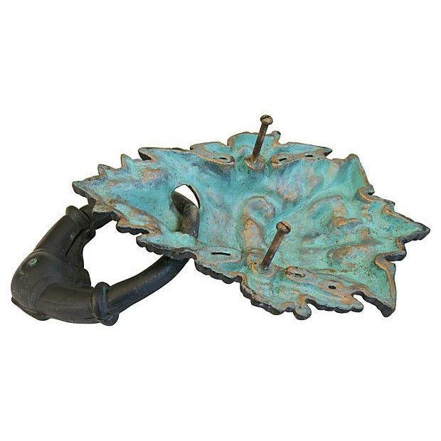 Vintage Large Mythical Creature Door Knocker - Image 7 of 7