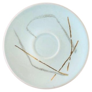 "Russel Wright ""Grass"" Pattern Saucer"