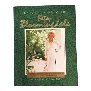 Entertaining With Betsy Bloomingdale Signed Book