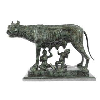 Capitoline Wolf Bronze Statue