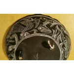 Image of Mexican Handpainted Bowl With Birds, X. Guerrero