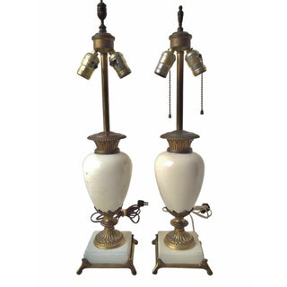 1918 Art Deco Table Lamps - Pair