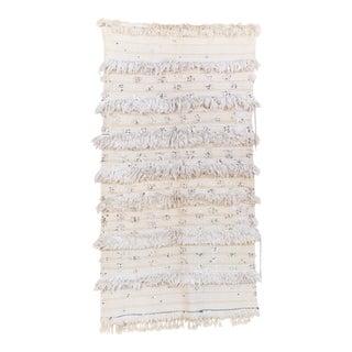 "Vintage Handira Wedding Blanket - 3'11"" x 7'0"""