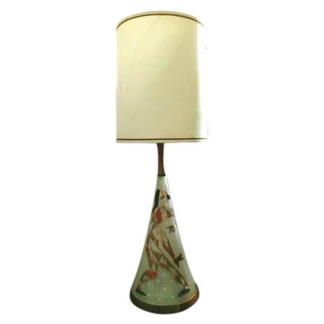 Mid Century Harlequin Lamp, Style of Marc Bellaire - Image 1 of 6