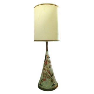 Mid Century Harlequin Lamp, Style of Marc Bellaire