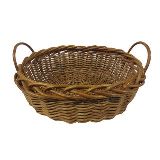 Giant Oversize Braided Willow Basket