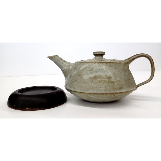 Artisan Stoneware Tea Pot - Image 10 of 10