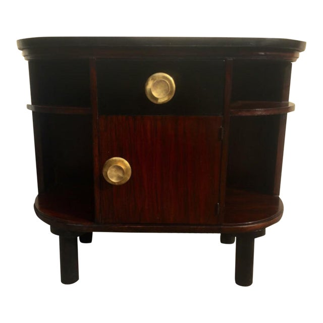 Art Deco Rosewood Stand - Image 1 of 4