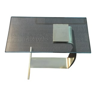 DIA Brass & Glass Side Table
