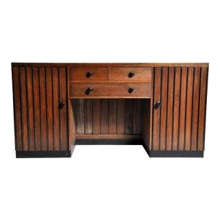 British Colonial Art Deco Sideboard