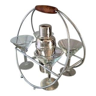 Vintage Martini Caddie Set - Set of 6