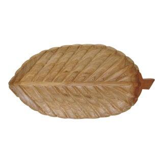 Oversized Ash Wood Tray