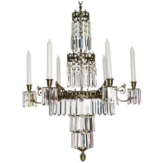 Oscarian Swedish 6-Candle Chandelier