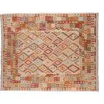 "Image of New Kilim Carpet - 8' X 9'9"""