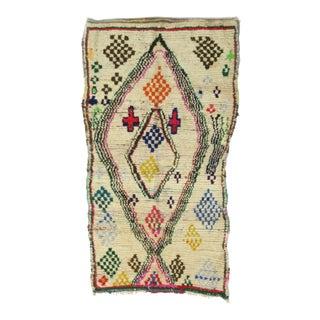 Vintage Moroccan Azilal Rug - 4′6″ × 7′8″