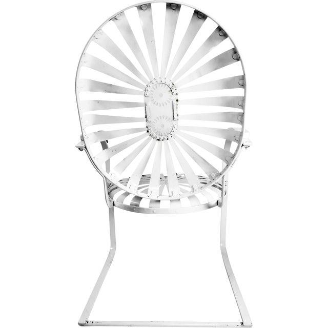 Francois Carre Vintage Sunburst Cantilevered Chairs - A Pair - Image 7 of 11