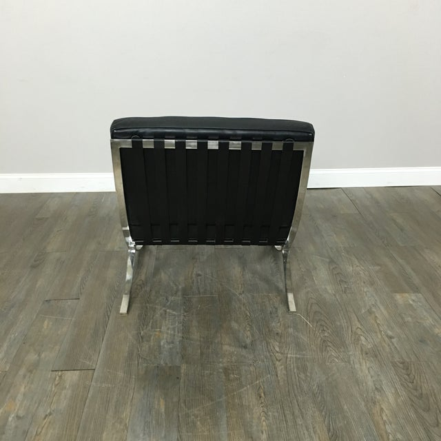 Barcelona Chairs & Ottoman - Set of 3 - Image 7 of 11
