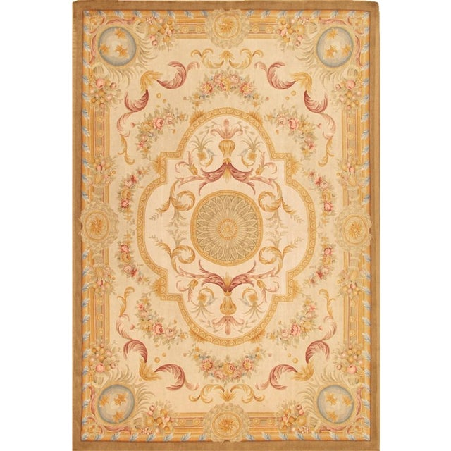 Image of Pasargad French Renaissance Oriental Rug- 8'x10'