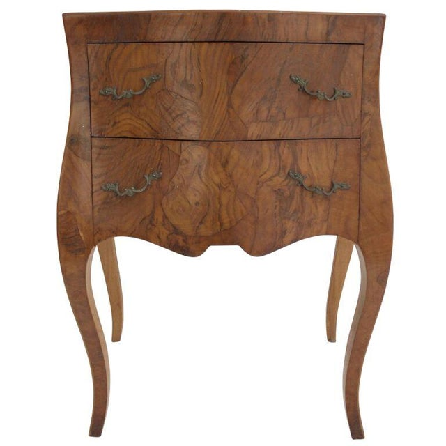 Image of Burl Wood Italian Commode