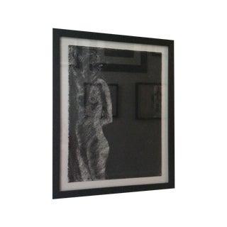 Matt Alston Charcoal Drawing - Nude 6