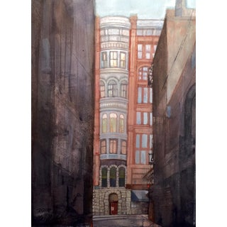 """In the Alley"" Original Watercolor Painting"