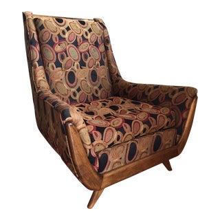 Mid-Century Modern High Back Chair