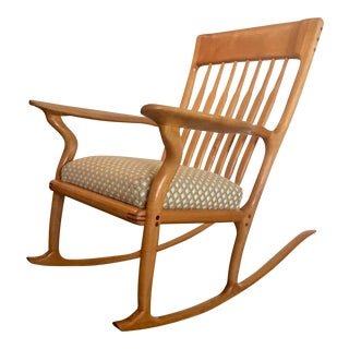 Artist Crafted Modern Rocking Chair