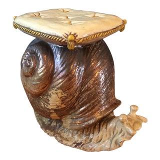 Vintage Snail Bench