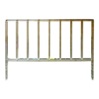 Lucite Bar King Headboard
