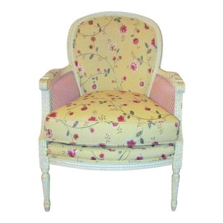 Wesley Hills Floral Upholstered Side Chair