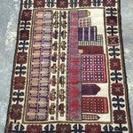 Image of Sumack Handmade Persian Rug - 2′10″ × 4′7″