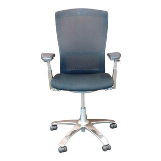 Knoll Black Mesh Life Chair