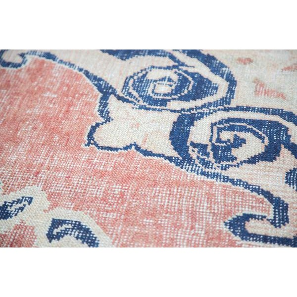 "Image of Distressed Oushak Carpet - 6' X 9'4"""