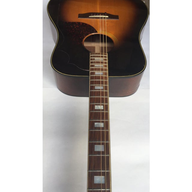 Vintage 1960s Gibson Acoustic Guitar - Image 5 of 10