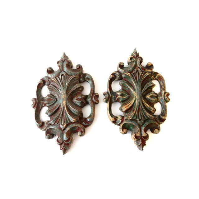 Image of Italian Baroque-Style Wall Hangings - A Pair