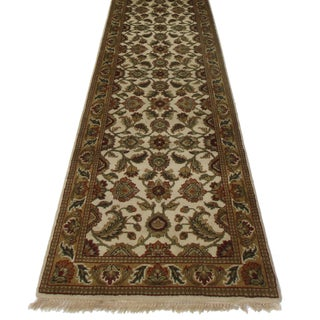 Persian Style Hand Knotted Runner - 2′6″ × 15′9″