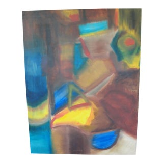Raphael Vegash Abstract Oil on Canvas Painting