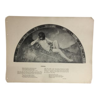 1902 Library of Congress Mural Paintings Print
