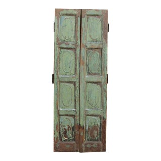 Goa Chartreuse Painted Doors