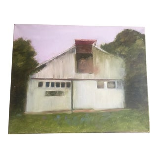 """Old Barn"" Original Painting"